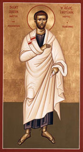 Justin, Martyr at Rome